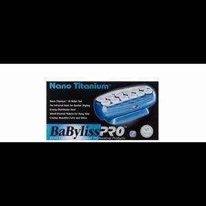 BabylissPro Nano Titanium 12 Jumbo Rollers